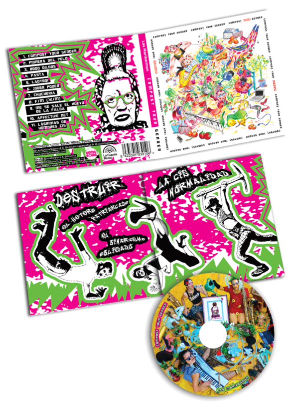 COMPOST YOUR GENDER CD + Cover